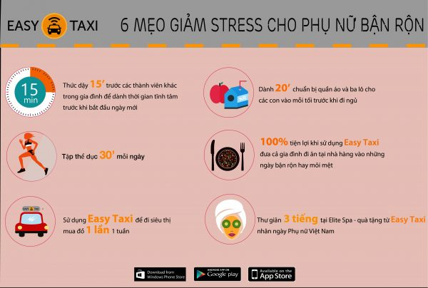 Easy Taxi - Women's Day Infographic