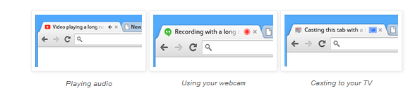 Chrome 32 Beta tabs - Chrome ra mắt phiên bản 32 cho máy tính