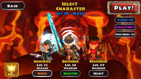 """dungeon quest 1 - [Cũ mà hay] Dungeon Quest: Chơi """"Diablo"""" trên di động"""