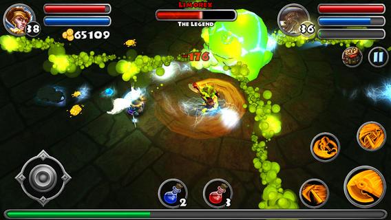 """dungeon quest 2 - [Cũ mà hay] Dungeon Quest: Chơi """"Diablo"""" trên di động"""