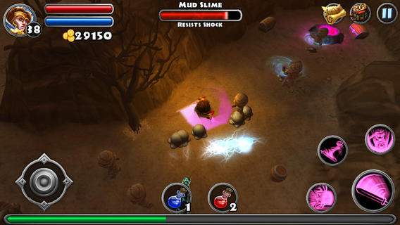 """dungeon quest 3 - [Cũ mà hay] Dungeon Quest: Chơi """"Diablo"""" trên di động"""