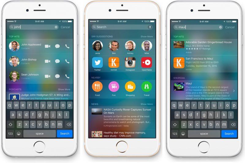 ios 9 spotlight search 800x533 - Khám phá thêm Spotlight Search trên iOS 9