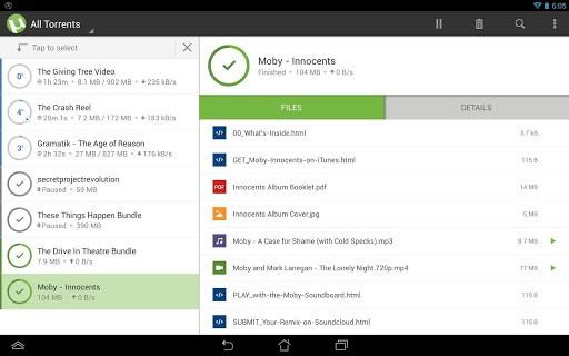 utorrent 1 - Hướng dẫn tải torrent trên Android