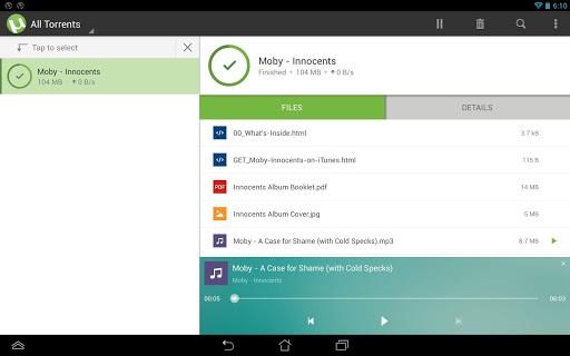 utorrent 2 - Hướng dẫn tải torrent trên Android